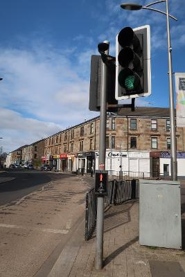 Street and traffic lights