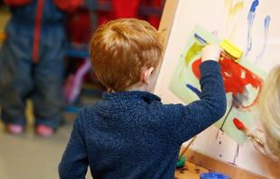 An image relating to Childminders working in partnership with East Renfrewshire