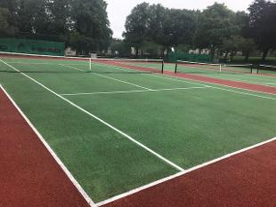 An image relating to Council improve Cowan Park tennis courts