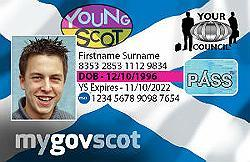 Young person's Young Scot card