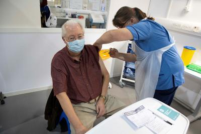 Provost Jim Fletcher Covid 19 vaccine