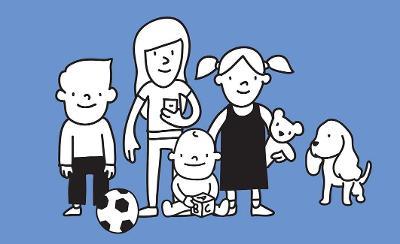 Fostering - children graphic
